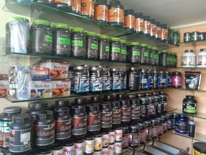 Whey Protein Supplement Food
