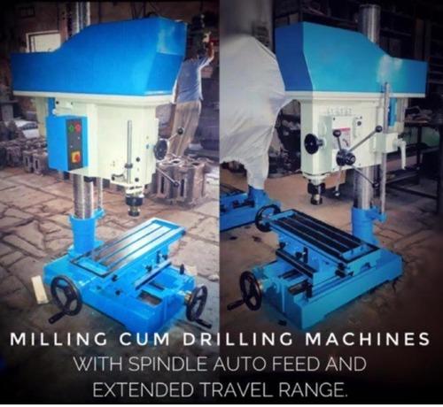 Easymech Milling Cum Drilling Machine