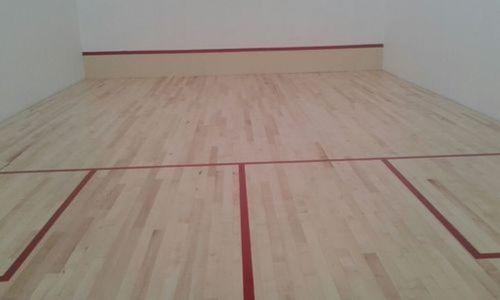Brown Basketball Court Maple Wood, Laminate Basketball Flooring