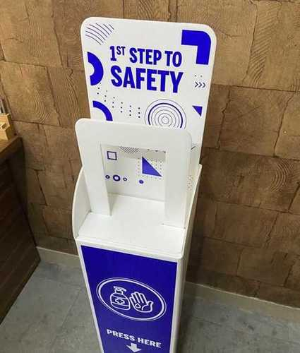Plastic Sanitizer Stand