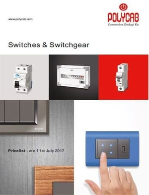 POLYCAB Switches For High Voltage