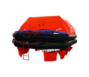 Commercial Inflatable Life Raft