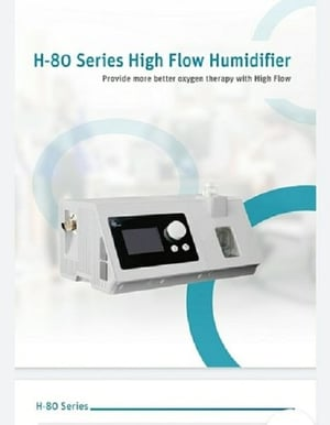 80H Series High Flow Oxygen Therapy