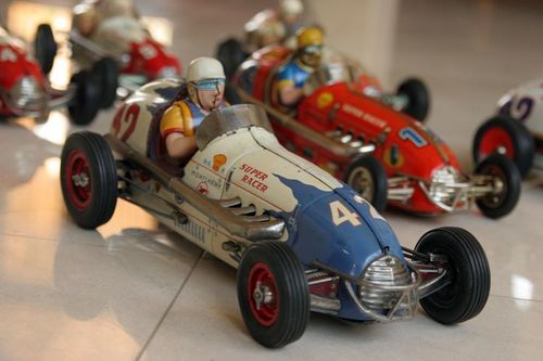 Antique Vintage Toy Cars For Decoration