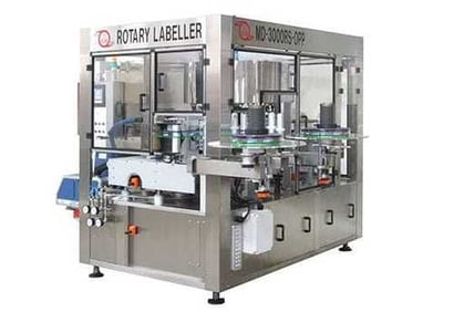 Automatic High Speed Opp/Bopp Labeling Machine - Md-3000Rs-Opp Certifications: Ce
