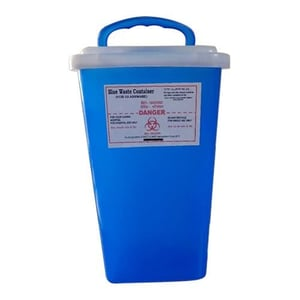 12L Blue Sharps Container