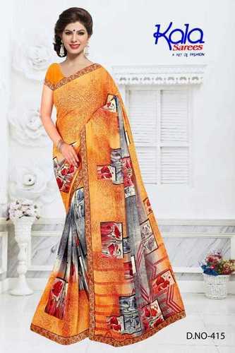 Multi Ladies Weightless Printed Sarees