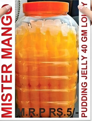 FSSAI Approved 40gm Mister Mango Litchi Ice Lolly
