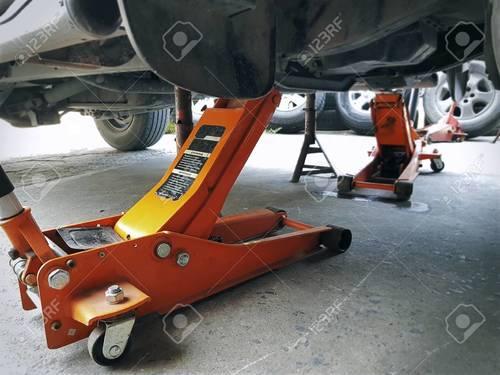 Car Repair Tool Kits Hydraulic Hand Mechanical Car Flooring Jack 5ton