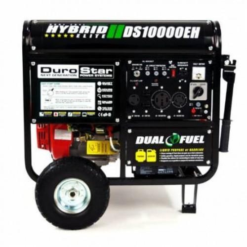 Dual Fuel Hybrid Generator