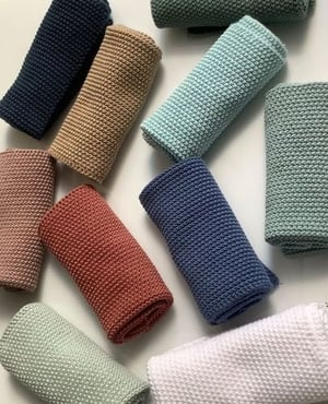 Knitted Dishcloths and Kitchen Towels