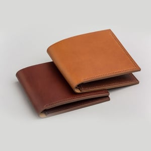 Brown Leather Wallets for Men