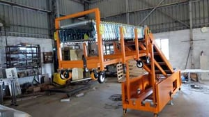 Expandable B Container Loading Conveyor