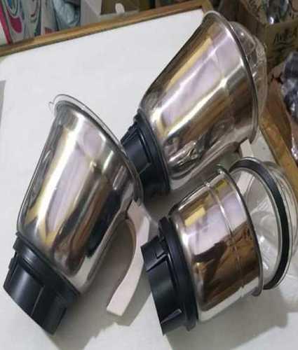 Stainless Steel Regular Mixer Jars