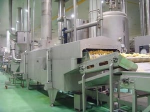 High Performance Potato Chips Processing Line