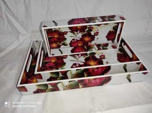 Highly Durable MDF Printed Trays