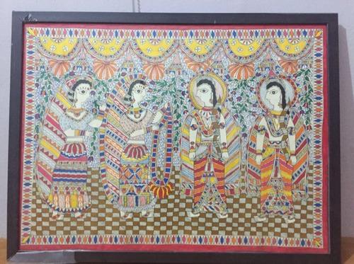 Madhubani Art Painting
