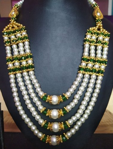 Perfect Shape Trendy Multi Strand Beaded Necklace