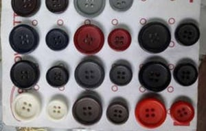 4 Hole Polyester Coat Button