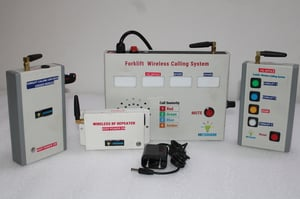 Wireless Forklift Remote Calling System