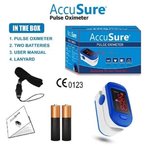 Easy to Operate Accusure Pulse Oximeter
