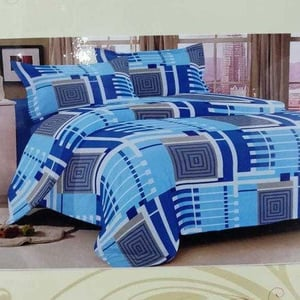 Printed Quilted Bed Sheet