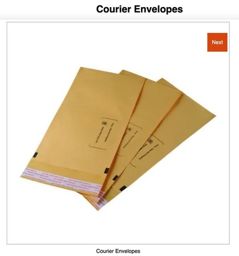 Paper Envelope And Kraft Paper Courier Bags