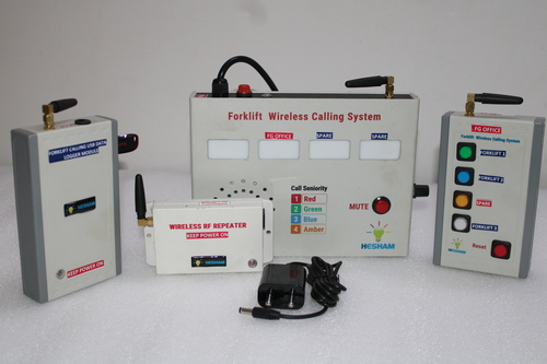 Rigid Abs Body Wireless Forklift Remote Calling System