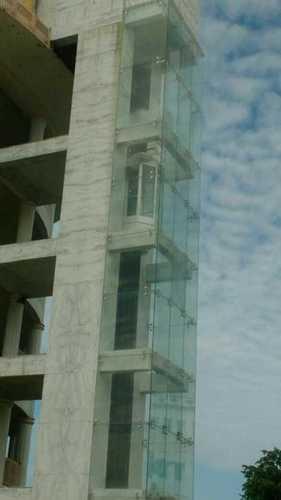 Frameless Spider Laminated Glass Glazing