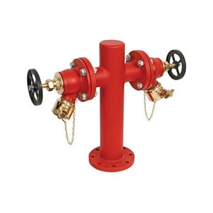 Red Color Stand Post Hydrants