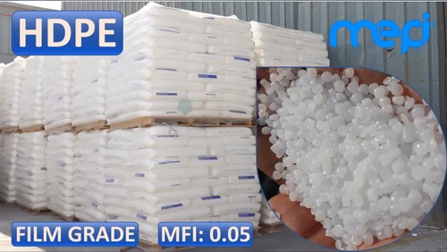 Raw HDPE Bimodal Blown Film Granules