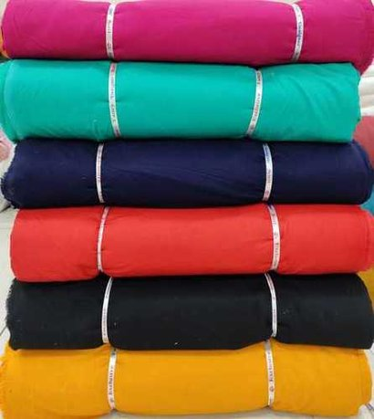 Rayon Plain Fabric 140 Gsm Recommended Season: All