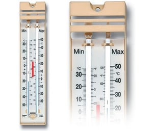 Screen Printing Mercury Filled Thermometer