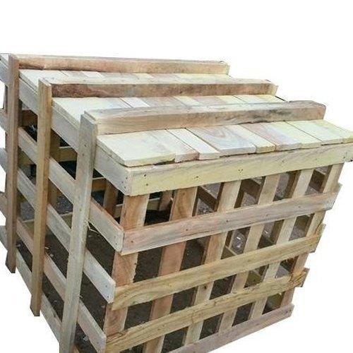 Brown Wooden Storage Pallet