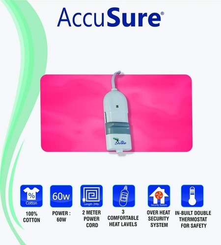 Accusure Heating Pad For Lumbar Back Pain Relief