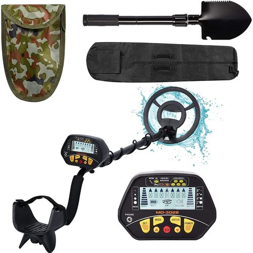 Esright Metal Detector for Adult, Gold Detector with Waterproof Sensitive Search Coil