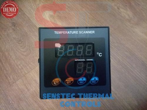 Multi Channel Digital Temperature Scanner Indicator