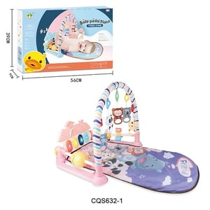 Foot Pedal Piano Baby Gym Toys Play Mat