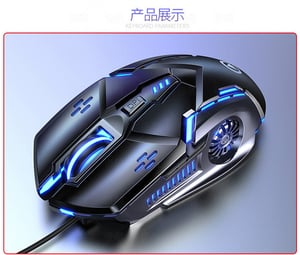 Six Button Video Game Mouse