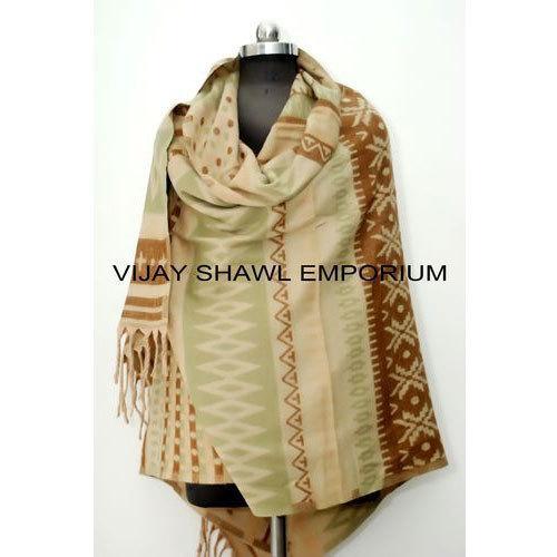 Woolen Acrylic Raising Shawl