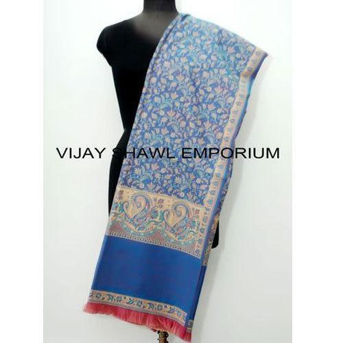 Woolen Jamawar Design Shawl