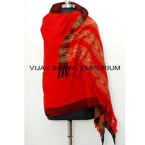 Woolen Kullu Patti Shawl