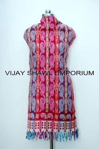 Woolen Paisley Lining Shawl