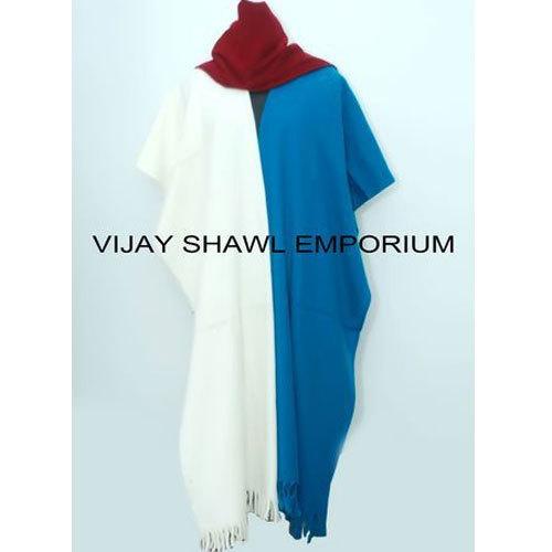 Woolen Party Wear Plain Shawl
