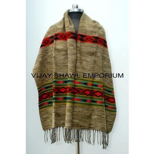 Woolen Printed Nepali Shawl