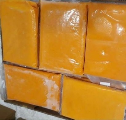 No Artificial Color Frozen Mango Pulp Packaging: Can (Tinned)