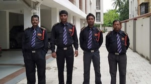 Educated Male Security Guard Services