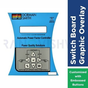 Graphic Overlay Sticker with Embossed Button for Membrane Switch