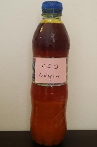 Organic Crude Palm Oil