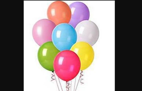Color Birthday Party Latex Balloon